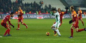 Konyaspor 1 golle yenildi