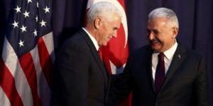 Başbakan , ABD Başkan Yardımcısı ile görüşüyor