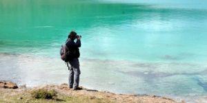 Muğla'da fotoğrafçıları kendine hayran bırakan gölet