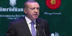 Erdoğan: Almanya'nın terörden yargılanması gerekiyor