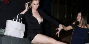 Dünyaca ünlü model alkolü kaçırınca kendini kaybetti