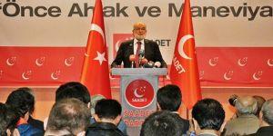 SP Genel Başkanı Karamollaoğlu: Toplumun her kesimi kucaklanmalı