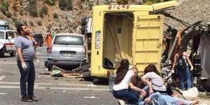 Marmaris kazasında ölen midibüs şoförünün son sözü 'bittik' olmuş