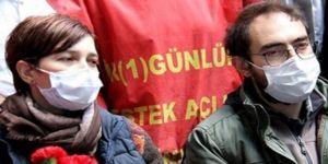 Açlık grevindeki Gülmen ve Özakça'nın evine polis baskını