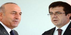 Çavuşoğlu ve Zeybekci Katar'da