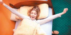 Mutluluğun sırrı 7 saat 6 dakikalık uykuda