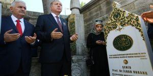 Erdoğan ve Yıldırım'dan 15 Temmuz şehitlerine ziyaret