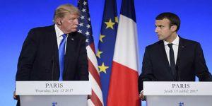 Macron: Esad'ın gitmesi önceliğimiz değil