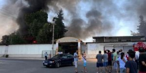 Antalya'da festival alanında yangın çıktı | Son dakika haberleri