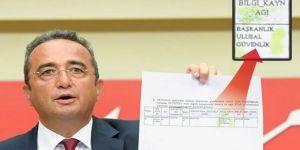 CHP'den 'özel istihbarat örgütü' iddiası