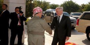 Barzani ABD Savunma Bakanı'nı böyle karşıladı