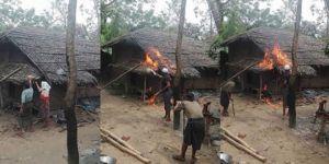 Myanmar hükümetinin yalanını budist rahiplerin fotoğraf oyunu