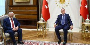 Cumhurbaşkanı Erdoğan ve Binali Yıldırım arasında yapılan görüşme sona erdi