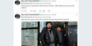 Reza Zarrab'la ilgili New York Times'tan Türkçe mesaj!