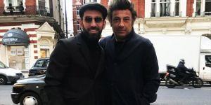 Arda ve menajeri Ahmet Bulut Londra'da
