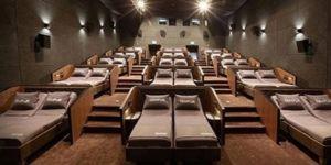 Türkiye'de bir ilk! Yataklı sinema salonu açıldı