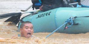 Filipinler'de felaket! 90 kişi hayatını kaybetti onlarca kayıp var…