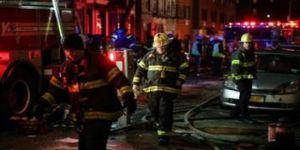 New York'ta facia! Yanan bina 12 kişiye mezar oldu