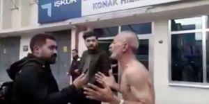 Maaşını alamayan işçi İŞKUR önünde soyundu: Bu devleti protesto ediyorum