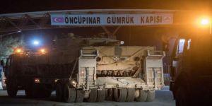 Başbakan 'kara harekatı yarın' demişti: Tanklar, Kilis'ten Suriye'ye geçti