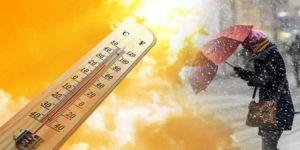 Meteoroloji'den son dakika hava durumu uyarısı! Bir haftada 10 derece