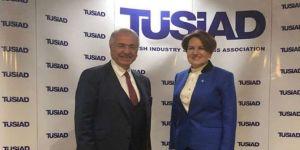 Meral Akşener TÜSİAD'ı ziyaret etti