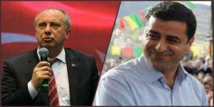 Demirtaş'ın teklifini İnce aktardı: Adaylar sırayla bir hafta hapis yatsın