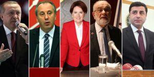 İşte liderlerin çizdiği profil! 'Erdoğan değişti, Muharrem İnce ezber bozdu'