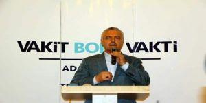 AKP'li Ataş: Erdoğan'ı başkan yapmadan ailemiz, eşimiz bize haram