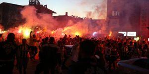 Ali Koç'un başkanlığı Kadıköy'de coşkuyla kutlandı