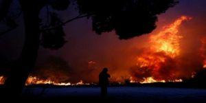 Facia gecesi: Yunanistan'daki orman yangınlarında 76 kişi hayatını kaybetti
