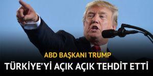 ABD Başkanı Trump'tan Türkiye'ye tehdit: Brunson'u bırakmazsanız yaptırım uygularız