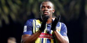 Usain Bolt, futbolculuk kariyerinin ilk gollerini attı!