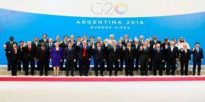 G20 zirvesi başladı! Trump ile Erdoğan ayaküstü görüştü