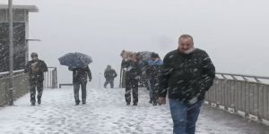 Meteoroloji'den son hava durumu tahmini uyarısı! (İstanbul'da kar yağışı)