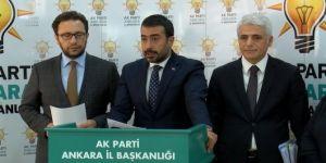 AK Parti Ankara İl Başkanı Hakan Han Özcan'dan yerel seçim açıklaması