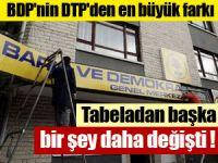 BDP'nin DTP'den büyük farkı