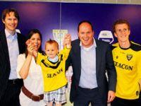 En küçük futbol yıldızı: Baerke!