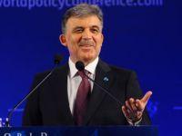 Dünya Siyaset Konferansı'ndaki konuşması