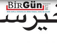 O kelimenin Osmanlıcası manşette!
