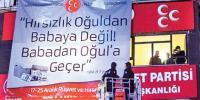 Yolsuzluk afişleri asan CHP ve MHP binalarına polis baskını