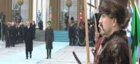 Cumhurbaşkanlığı Sarayı'nda yine bir ilk; 'Diriliş' marşı