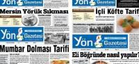 Bu gazete 'Kol böreği, Vali kebabı, Vezir parmağı' tarifi veriyor!