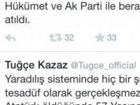 Tuğçe Kazaz'ın 'Atatürk ve AKP' tweetleri!