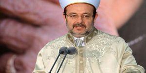 Diyanet İşleri Başkanı Görmez'den Kuran kursu skandalına açıklama