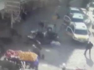 Diyarbakır'daki saldırı anı mobesede