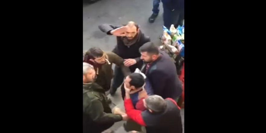 Masum adamı 'terörist' diye dövdüler