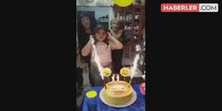 Doğum günü bir anda kabusu oldu