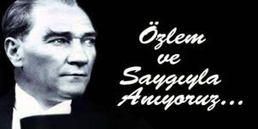 10 KASIM Atatürk'ü Anma ve Atatürk Haftası
